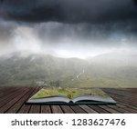 Landscape Image Of Low Cloud...