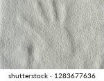 Hand Brush Print On White...