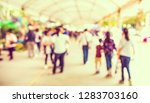 vintage tone abstract blurred...   Shutterstock . vector #1283703160