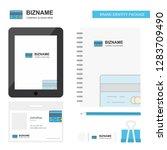 credit card business logo  tab... | Shutterstock .eps vector #1283709490