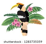 colorful friendly great... | Shutterstock .eps vector #1283735359