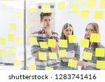 creative business colleagues...   Shutterstock . vector #1283741416