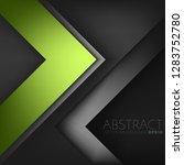 green vector background... | Shutterstock .eps vector #1283752780
