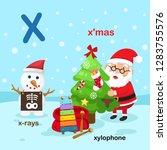 illustration isolated alphabet... | Shutterstock .eps vector #1283755576