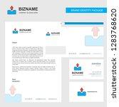 uploading business letterhead ... | Shutterstock .eps vector #1283768620