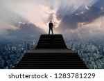success and leader concept ... | Shutterstock . vector #1283781229