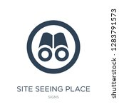 site seeing place icon vector... | Shutterstock .eps vector #1283791573