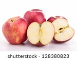 fresh apples | Shutterstock . vector #128380823