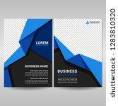 corporate brochure template... | Shutterstock .eps vector #1283810320