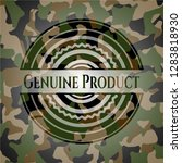 genuine product camouflaged... | Shutterstock .eps vector #1283818930