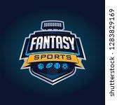 fantasy sport logo | Shutterstock .eps vector #1283829169