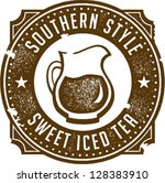 Authentic Southern Sweet Tea Stamp