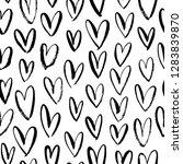 abstract seamless heart pattern....   Shutterstock .eps vector #1283839870
