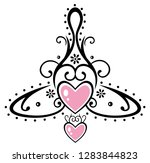 celtic symbol  which stands for ... | Shutterstock .eps vector #1283844823