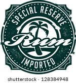 Special Reserve Imported Rum...