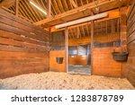 natural lighted horse barn | Shutterstock . vector #1283878789