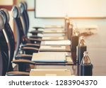 the detail table shot of a... | Shutterstock . vector #1283904370