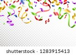 colorful serpentine and... | Shutterstock .eps vector #1283915413