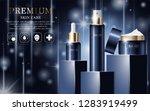 hydrating facial cream for... | Shutterstock .eps vector #1283919499