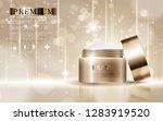 hydrating facial cream for... | Shutterstock .eps vector #1283919520
