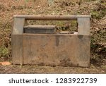 portable steel fuel tanks for... | Shutterstock . vector #1283922739
