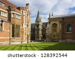 View Of Pembroke College In...