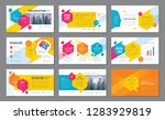 abstract presentation templates ... | Shutterstock .eps vector #1283929819