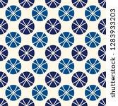 minimalist pattern. repeated...   Shutterstock .eps vector #1283933203