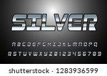 vector of modern font and...   Shutterstock .eps vector #1283936599