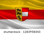 flag of carinthia is the... | Shutterstock . vector #1283958343