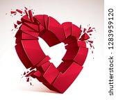Broken Heart Concept Breakup ...
