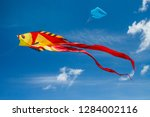 Colorful Kite In The Shape Of...