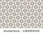 seamless pattern with... | Shutterstock .eps vector #1284004420