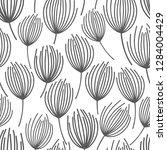 vector seamless pattern on... | Shutterstock .eps vector #1284004429