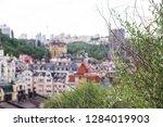 beautiful multi colored... | Shutterstock . vector #1284019903