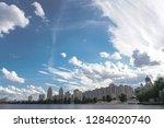 beautiful city of kiev in the... | Shutterstock . vector #1284020740