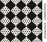 vector monochrome geometric...   Shutterstock .eps vector #1284025423