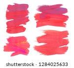 craft label brush stroke... | Shutterstock . vector #1284025633