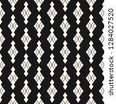 vector rhombuses seamless... | Shutterstock .eps vector #1284027520