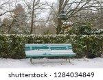garden park in rennes to thabor ... | Shutterstock . vector #1284034849