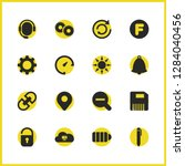 interface icons set with sd...