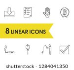 package icons set with bitcoin  ...