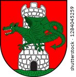 coat of arms of klagenfurt is... | Shutterstock .eps vector #1284045259