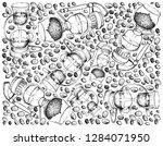 illustration wallpaper... | Shutterstock .eps vector #1284071950