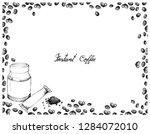 illustration hand drawn sketch... | Shutterstock .eps vector #1284072010