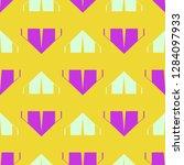 background multicolor geometric ...   Shutterstock .eps vector #1284097933