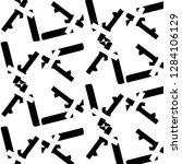 halftone monochrome texture... | Shutterstock .eps vector #1284106129