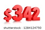 342  three hundred and forty... | Shutterstock . vector #1284124750