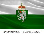 flag of styria is a state... | Shutterstock . vector #1284132223