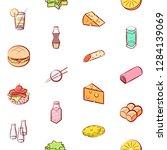 various images set. background...   Shutterstock .eps vector #1284139069